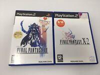 Final Fantasy X-2 & 12 Bundle Sony PlayStation 2 PS2 2003