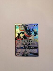 Pokemon TCG - Shiny Greninja GX SV56/SV94 Ultra Rare - Hidden Fates - Mint