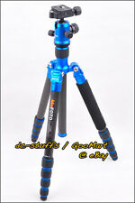 MeFoto GlobeTrotter C2350Q2 Carbon Tripod Monopod Kit BLUE * EXPRESS SHIP