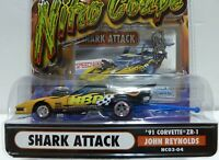 Muscle Machines NITRO COUPE-SHARK ATTACK Series Die Cast Adult Collectible 1:64