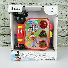 Disney Mickey Mouse & Friends My First Learning Book Lights N Sound Bilingual