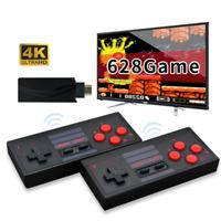 Retro Mini HDMI 4K TV Game Stick Console 628 Built-in Games 2×Wireless Gamepad