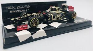Minichamps 1/43 Lotus F1 Team Lotus Lenult E20 2012 #9 K Raikkonen 410120009