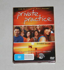 Boxed DVD  set - Private Practice - Season 1 extended edition - 3 x dvd set