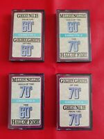 Great Number 1`s  Million selling Golden Groups  From 60s 70s CASSETTE TAPE x 4