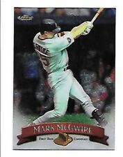 MARK MCGWIRE   1998 FINEST NO-PROTECTORS #145     FREE COMBINED SHIPPING