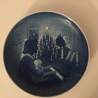 Bing & Grondahl Copenhagen Porcelain Plate 1971 Christmas at Home Jul De Hiemmet