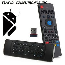 2.4GHz Fly Air Mouse + Wireless Qwerty Keyboard Remote For JADOO 5 TV Android