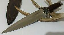 Joker Ritual Dagger Hunting Bowie Knife W/ Sheath Case Hand Crafted Spain !