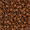 Toho Size 3/0 Round Japanese Seed Beads Opaque Terra Cotta 5.5mm 19.5g (L96/8)