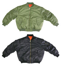 Air Force Military Reversible MA-1 NYLON Bomber Jacket ( SALE, Fast Shipping)
