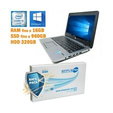 "NOTEBOOK HP ELITEBOOK 820 G2 I5 5300U 12,5"" TASTIERA ITA WINDOWS 10 PRO-"