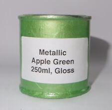 250ml Green METALLIC Gloss Heat Resistant Paint Engine Caliper Brake Metal