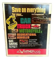 1974 JC Whitney Catalog # 324 A Car Truck Auto Parts Accessories RV Motorcycle