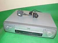 LG VCR VHS VIDEO CASSETTE RECORDER Vintage LV200 Silver Smart Fully Tested