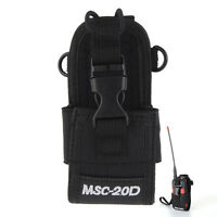 MSC-20D Nylon Walkie Talkie For Baofeng Motorola Kenwood Case Bag Radio Holster