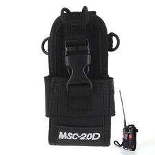 MSC-20D Nylon Walkie Talkie For Baofeng Motorola Kenwood Case Bag Radio Holster