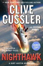 Clive Cussler The NUMA Files: Nighthawk AUTOGRAPHED