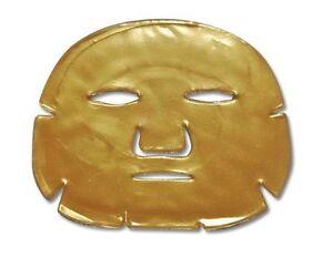 3 x Beauty New Crystal 24K Gold Powder Gel Collagen Face Mask Sheet Hyaluronic