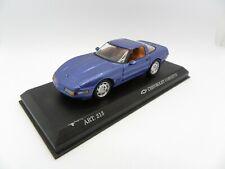 Chevrolet corvette zr 1 coupe art 213 blue detailcars 1/43 miniature