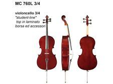 Violoncello 3/4 da studio DAM MC760L