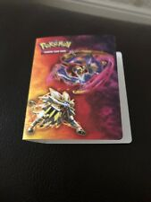 Pokemon Pikachu 18 pocket Card Holder Binder Trading Cards Soft Cover Protection