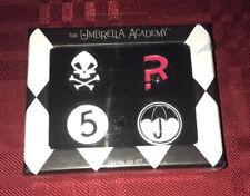 The Umbrella Academy Enamel Pin Set  NEW