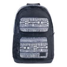 ANIMAL WOMENS/GIRLS BACKPACK.CRESCENT BLACK RUCKSACK BAG.SCHOOL/UNI 7W 306 002