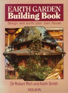 Earth Garden Building Book Design and build your own house BOOK DIY Housing