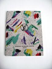 Louis Vuitton 2019 Spring Summer Show VIP Event Mini Catalog Brochure