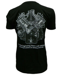 "FORD ""DEUCE"" 1932 V8 ENGINE CUTAWAY ORIGINAL ART - SHORT SLEEVE TEE - Size 3XL"