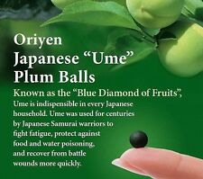 Oriyen Omeken Japanese Plum Balls Digestive Health Indigestion 150 Balls