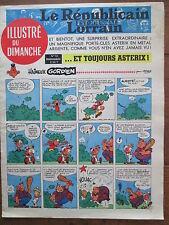 LE REPUBLICAIN LORRAIN ILLUSTRE DU DIMANCHE 13 UDERZO GREG MORRIS GRATON... 1967