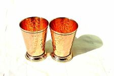 Hammered Copper Mint Julep Cup Hammered Copper Moscow Mule Julep Cup Set of 2