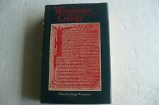 """Winchester College Sixth Centenary Essays"" 1982 Hardback In Jacket"