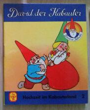 DAVID der KABAUTER - Hochzeit im Kabauterland 2 - PV - pestalozzi 1985 / 1990