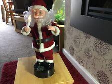 "Light Up Music  Santa 16"" With Box Christmas Decoration"