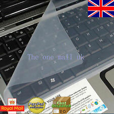 "Universal Silicone Laptop Keyboard Skin Protector Cover for 15"" 17"" uk seller"