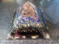 Gran Pirámide De Orgón Sodalita ayuda a insomnio