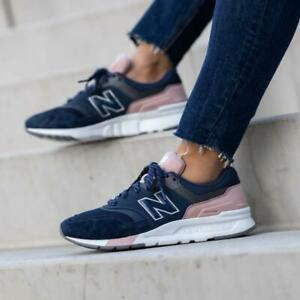New Balance CW997HYA Navy / Pink Womens Shoes