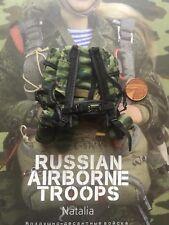 Las tropas rusas en el aire DAMTOYS Natalia RD-54 Paquete de Asalto Suelto Escala 1/6th