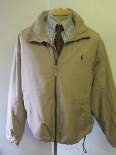 "POLO Ralph Lauren Zipped Hooded Fleece Jacket XL 46-48"" Euro 56-58 - Brown"