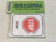 Signs & Symbols - Cards for Learning Center - Three Part Card set - Montessori