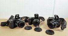 *LOT OF 3* Nikon Coolpix L110/120 Digital Camera - 14.1MP - Black - Cameras Only