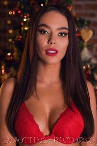 Nr. 7 Sexy Model Foto - Weihnachten - Erotik - Hochglanz - Größe 10x15 - Farbe