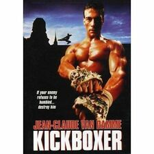 KICKBOXER   JEAN CLAUDE VAN DAMME DVD  NEW AND SEALED