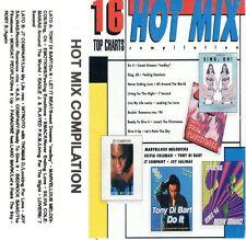 HOT MIX COMPILATION 16 Top Charts MC rara cassetta audio tape stereo Dance Tecno