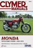 Honda CB750K CB750A CB750F 1969-1978 Clymer Workshop Manual Service Repair
