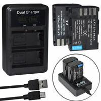 DMW-BLF19E BLF19 BLF19PP DMW-BTC10 Battery / charger For Panasonic GH3 GH4 DC-G9
