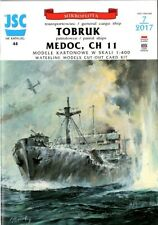 Card Model Kit – WW2 Empire Ship Tobruk